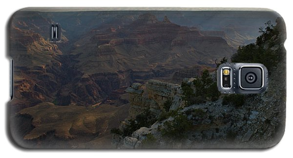 Galaxy S5 Case featuring the photograph Grand Canyon Monring by Stephen  Vecchiotti