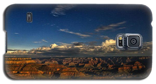 Galaxy S5 Case featuring the photograph Grand Canyon Moonlight by James Menzies