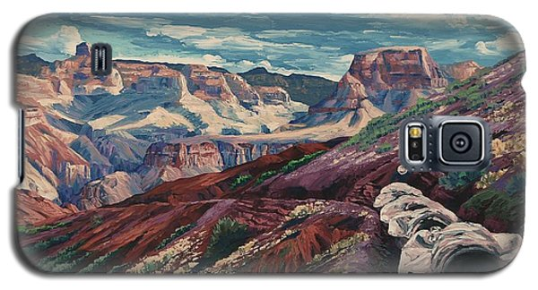Grand Canyon Mule Skinners Galaxy S5 Case