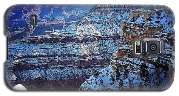 Grand Canyon National Park In Winter Galaxy S5 Case