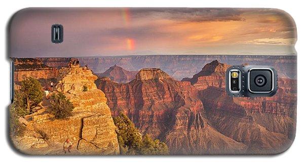 Grand Canyon North Rim Rainbow Galaxy S5 Case