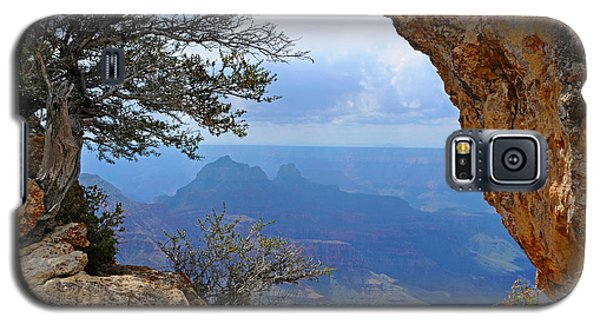 Grand Canyon North Rim Window In The Rock Galaxy S5 Case