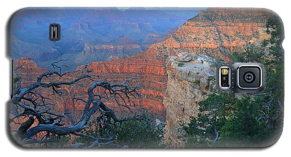 Grand Canyon South Rim - Red Hues At Sunset Galaxy S5 Case