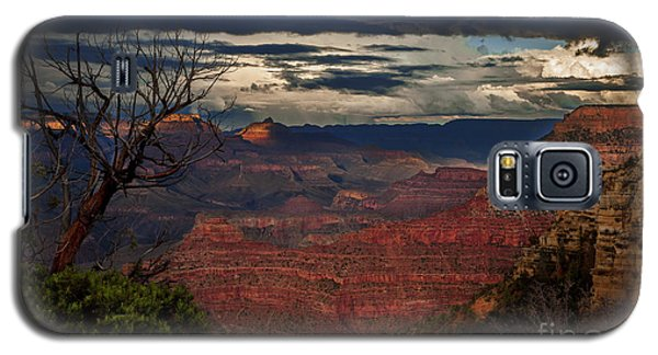 Grand Canyon Storm Clouds Galaxy S5 Case by John A Rodriguez