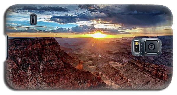 Grand Canyon Sunburst Galaxy S5 Case