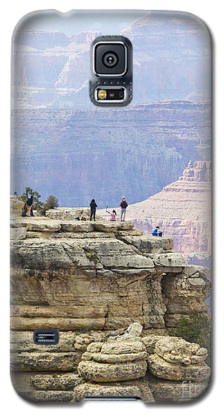 Galaxy S5 Case featuring the photograph Grand Canyon Vista by Chris Dutton
