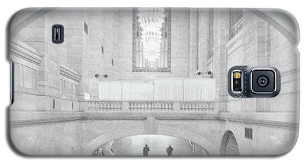 Galaxy S5 Case featuring the photograph Grand Central Station by Lora Lee Chapman