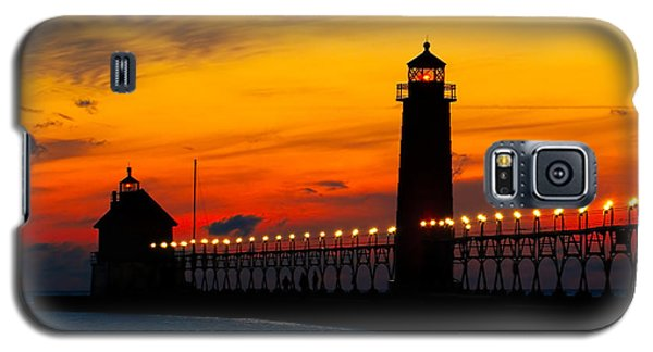 Grand Haven Sunset Galaxy S5 Case