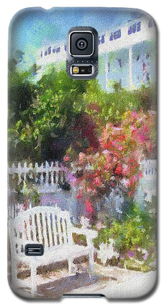 Grand Hotel Gardens Mackinac Island Michigan Galaxy S5 Case