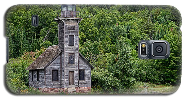 Grand Island East Channel Lighthouse #6680 Galaxy S5 Case