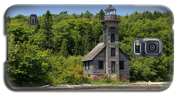 Grand Island Lighthouse 4 Galaxy S5 Case by Mary Bedy