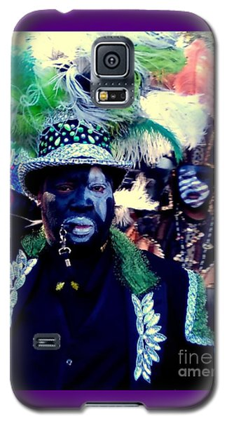 Grand Marshall Of The Zulu Parade Mardi Gras 2016 In New Orleans Galaxy S5 Case
