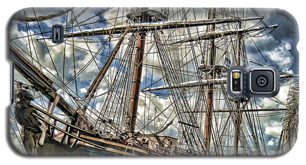 Galaxy S5 Case featuring the photograph Grand Old Sailing Ship by Roberta Byram