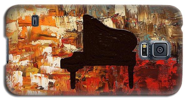 Grand Piano Galaxy S5 Case