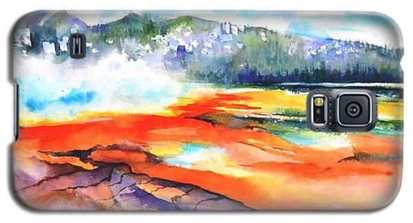Grand Prismatic Hot Spring Galaxy S5 Case