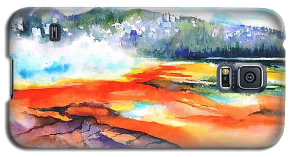 Grand Prismatic Hot Spring Galaxy S5 Case