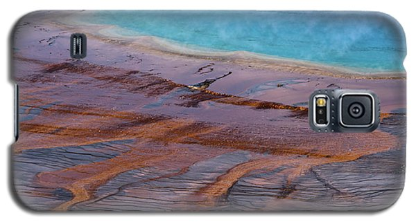 Grand Prismatic Spring Detail Galaxy S5 Case