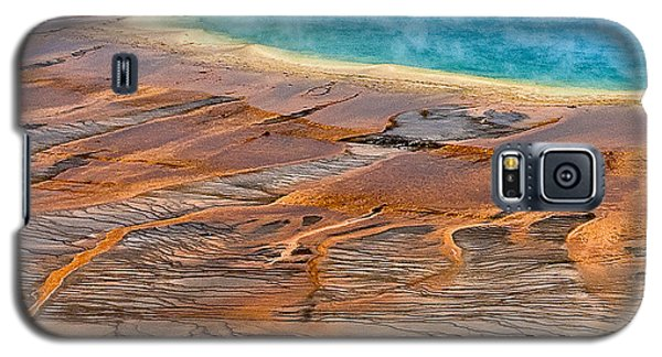 Grand Prismatic Spring Galaxy S5 Case