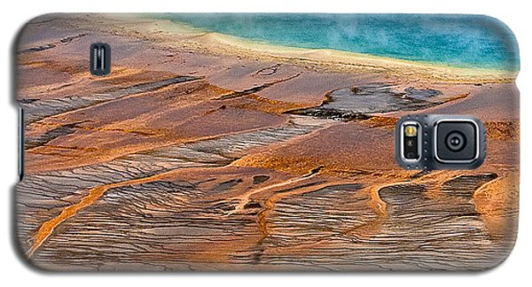 Grand Prismatic Spring Galaxy S5 Case