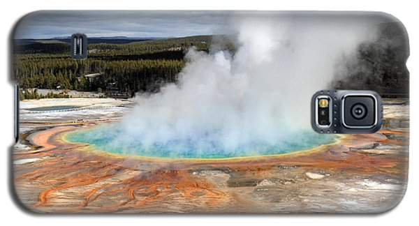 Grand Prismatic Springs In Yellowstone National Park Galaxy S5 Case