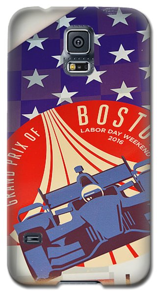 Grand Prix Of Boston Galaxy S5 Case