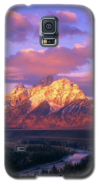 Grand Teton Sunrise Galaxy S5 Case
