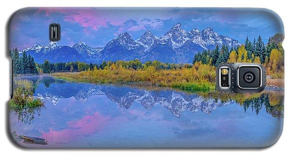 Grand Teton Sunrise Panoramic Galaxy S5 Case