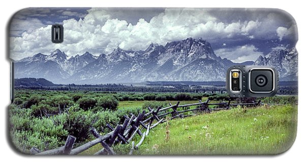 Grand Tetons Galaxy S5 Case