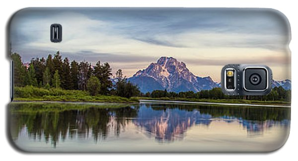 Grand Teton's Oxbow Panorama Galaxy S5 Case
