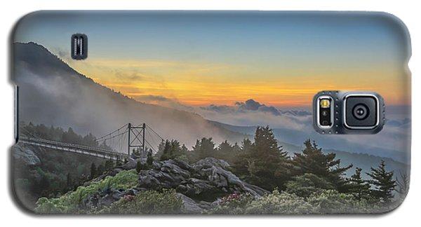 Grandfather Mountain Sunrise Galaxy S5 Case