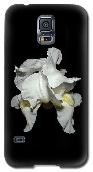 Grandma's White Iris Galaxy S5 Case