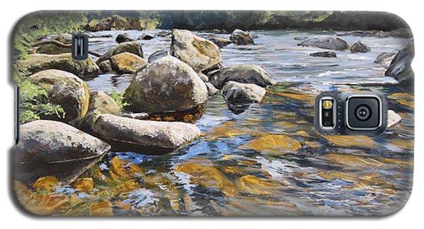 Granite Boulders East Okement River Galaxy S5 Case
