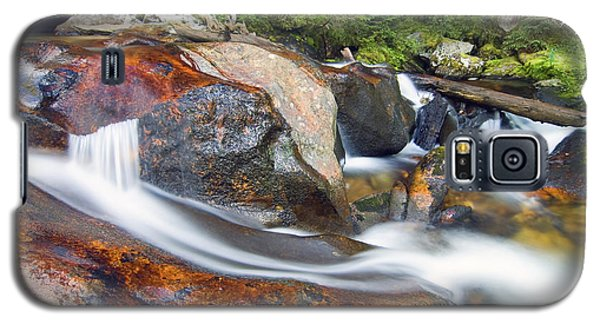 Galaxy S5 Case featuring the photograph Granite Falls by Gary Lengyel