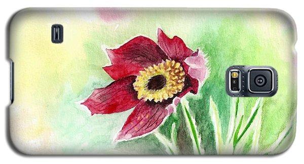 Granny Flower 2 Galaxy S5 Case