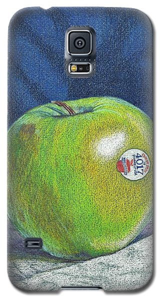 Galaxy S5 Case featuring the painting Granny Smith by Robert Decker