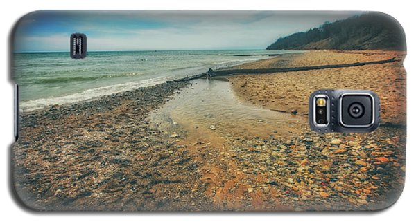 Galaxy S5 Case featuring the photograph Grant Park - Lake Michigan Beach by Jennifer Rondinelli Reilly - Fine Art Photography