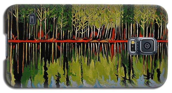 Grant's Lake Reflections Galaxy S5 Case by Kathleen Sartoris