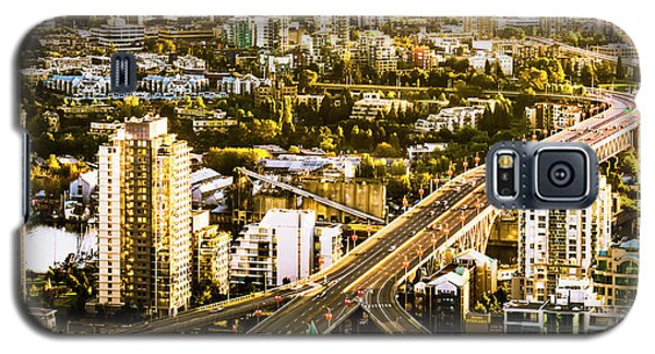 Granville Street Bridge Vancouver British Columbia Galaxy S5 Case