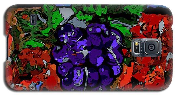 Grape Jazz Digital Galaxy S5 Case
