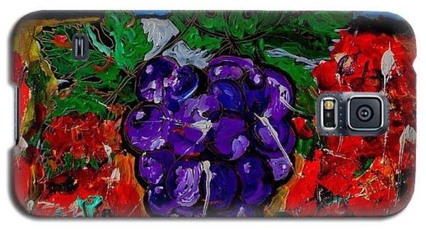 Grape Jazz Galaxy S5 Case