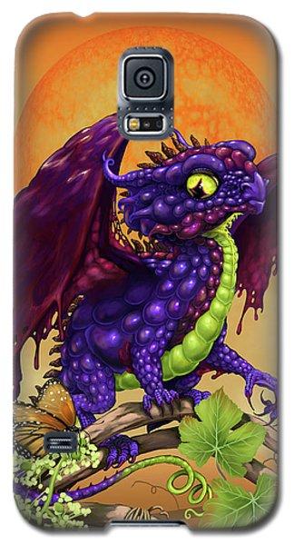 Grape Jelly Dragon Galaxy S5 Case by Stanley Morrison