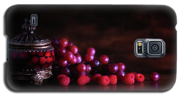 Grape Raspberry Galaxy S5 Case by Tom Mc Nemar