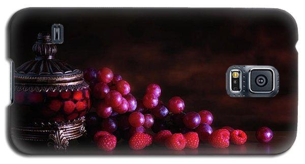 Grape Raspberry Galaxy S5 Case by Tom Mc Nemar