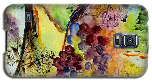 Grapes And Leaves IIi Galaxy S5 Case