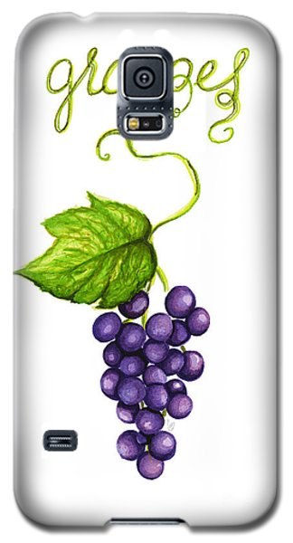Galaxy S5 Case featuring the painting Grapes by Cindy Garber Iverson