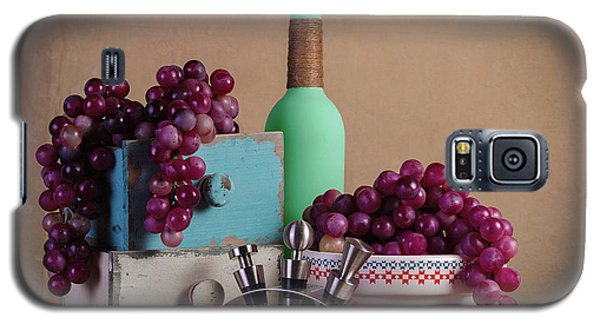 Grapes With Wine Stoppers Galaxy S5 Case by Tom Mc Nemar