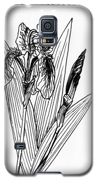 Graphic Iris Galaxy S5 Case