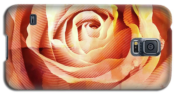 Graphic Rose Galaxy S5 Case
