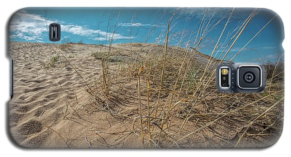 Galaxy S5 Case featuring the photograph Gras And Dunes  by John McGraw