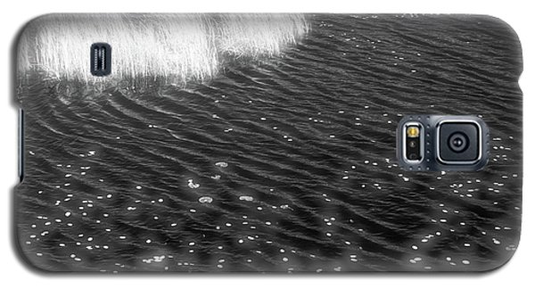 Grass And Water And Lilly Pads Bw2  Galaxy S5 Case